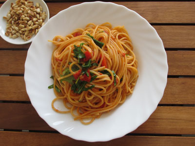 Low Carb Rucola Spagetti
