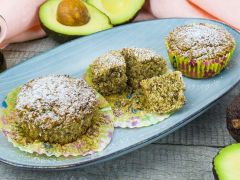 Low Carb Muffins mit Avocado