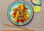 Asia Wokgemüse mit Konjak Nudeln