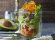 Avocado Lachs Salat
