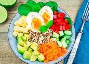 Buddha Bowl mit Avocado und Quinoa