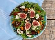 Bunter Salat mit Feige