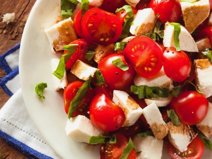 Cherrytomaten-Mozzarella-Salat