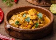 Chicken-Curry mit Kokosmilch