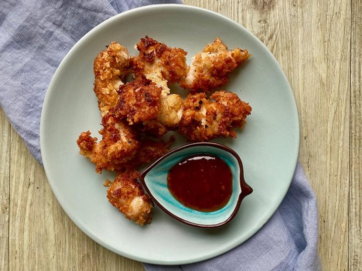 Knusprige Chicken Nuggets selbstgemacht