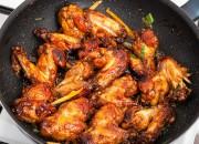 Chicken Wings aus dem Wok