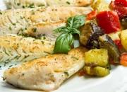 Dorschfilet mit mediterranem Gemüse