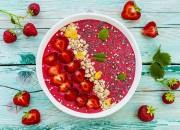 Erdbeer-Bowl