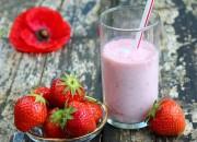 Erdbeer Vanille Shake