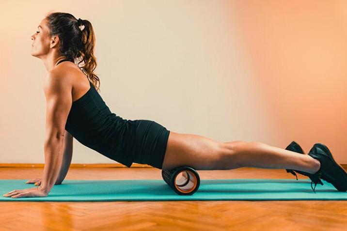 Die fünf besten Faszien Übungen für einen gesunden Rücken
