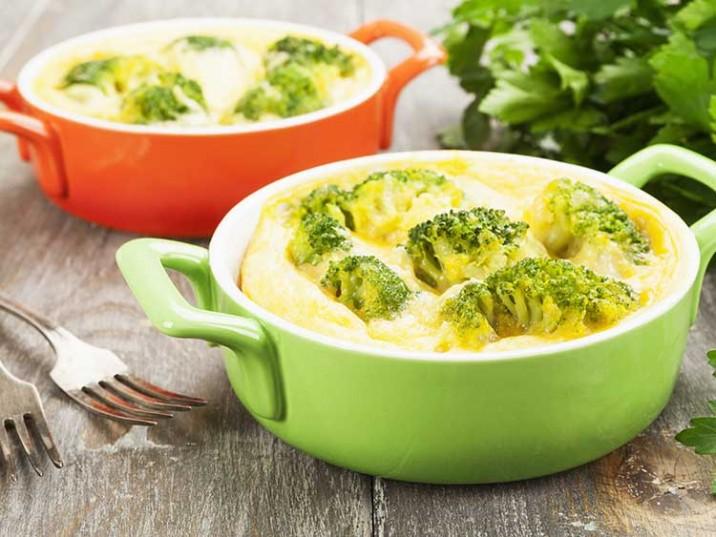 Frittata mit Brokkoli und Sellerie