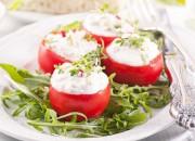 Gefüllte Tomaten mit Ricotta
