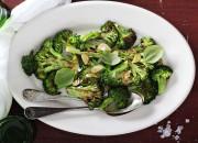 Gerösteter Brokkoli mit Knoblauch