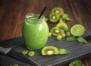 Green-Smoothie - mit Kiwi und Ingwer