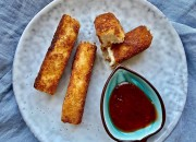 Low Carb Halloumi Sticks