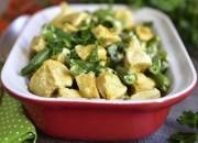 Hühnchencurry mit grünen Bohnen