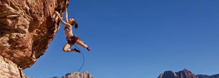 Mit Klettern verbrennen Sie viele Kalorien