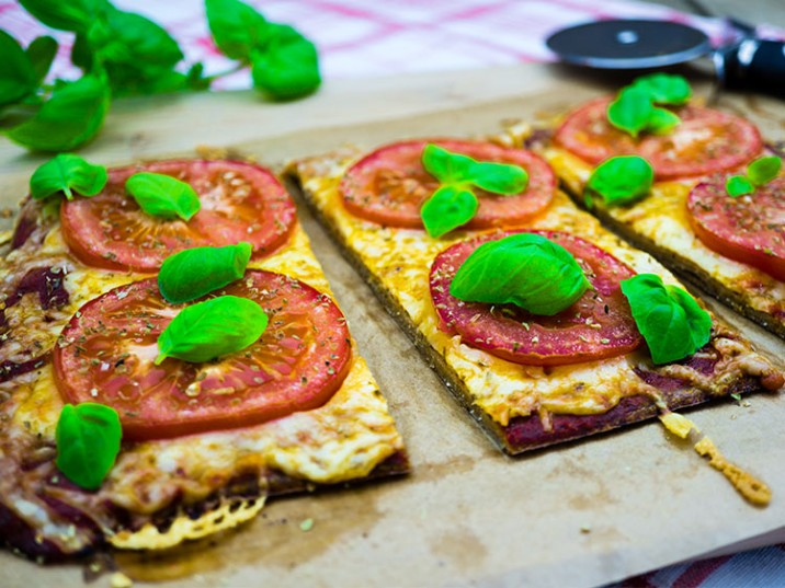 Low Carb Pizza Margherita