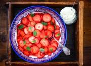 Low Carb Erdbeerdessert