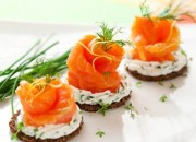 Low Carb Brot mit Lachs