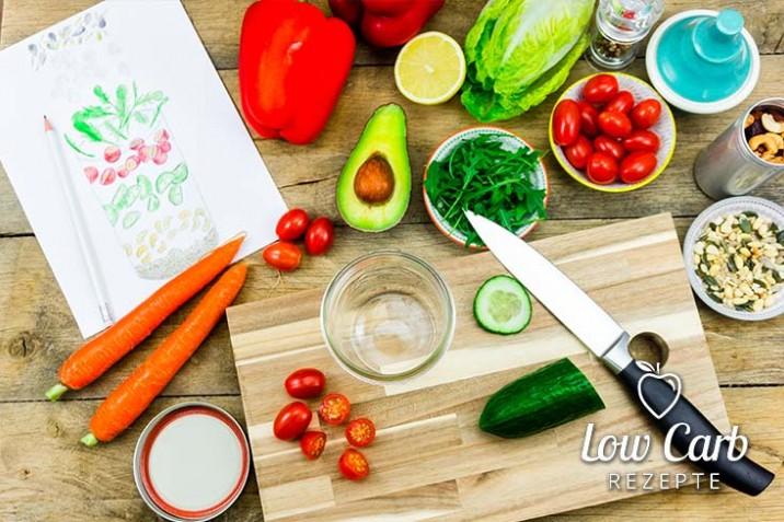 Meal Prep für die Low Carb Ernährung