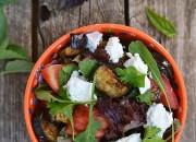 Mediterraner Sommersalat mit Feta