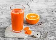 Möhren-Orangen-Ingwer Saft