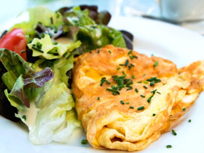 Omelette, ein Klassiker in der Low Carb Küche - lowcarbrezepte.org