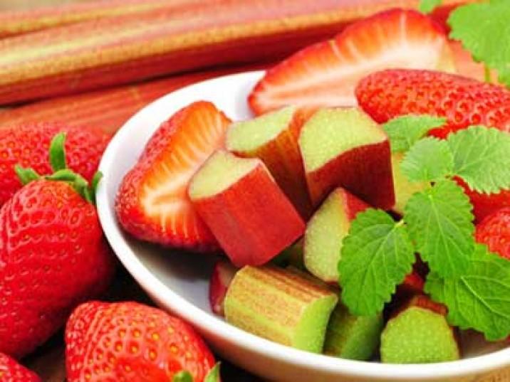 Rhabarber-Erdbeer-Kompott