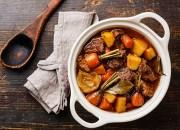 Rindergulasch mit Karotten und Pastinaken