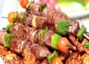 Rindfleischspieße vom Grill