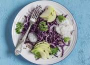 Rotkohl-Apfel-Salat