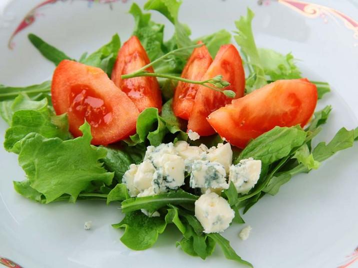 Rucola-Gorgonzola-Salat