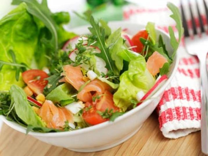 Rucola Lachs Salat