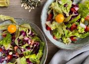 Schneller Rohkost-Salat mit Kernen
