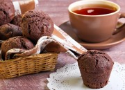 Schokoladige Low Carb Muffins