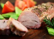 Schweinefilet im Baconmantel