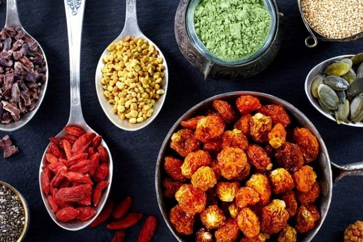 Superfoods - Die 8 besten Superfoods