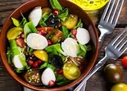 Sweet Salat mit Wachteleiern