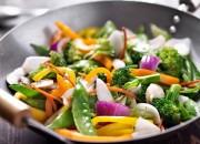 Vegetarisches Wokgemüse